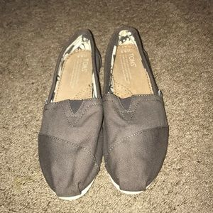 Women's Toms charcoal